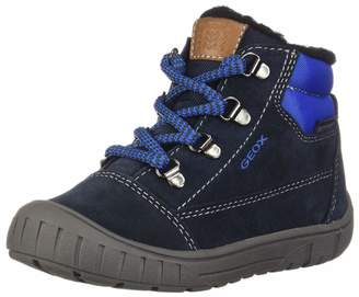 Geox Boy's B N. Flick BOY Sneakers, Navy/Grey