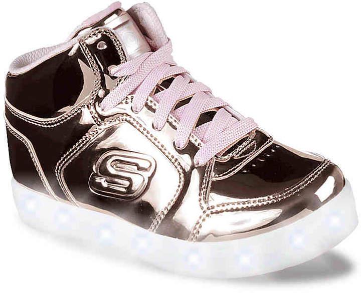 Skechers Girls Energy Lights Toddler & Youth Light-Up ...