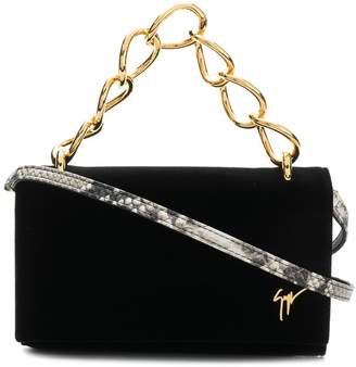 Giuseppe Zanotti Design chunky chain clutch bag
