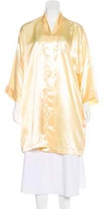 Christian Dior Satin Appliqué Robe
