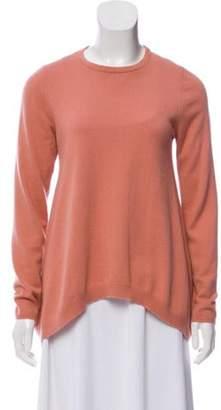 Brunello Cucinelli Cashmere Crew Neck Sweater Pink Cashmere Crew Neck Sweater