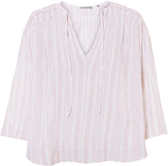 Vince Variegated Striped Top