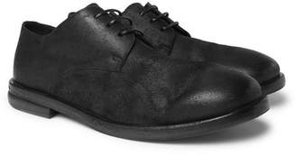 Marsèll Burnished-Suede Derby Shoes