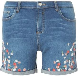 Shopstyle Dorothy Shorts Uk Blue Perkins Women For 1XXBrCUqFw