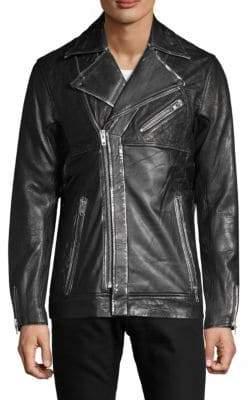 Drifter Maverick Leather Moto Jacket