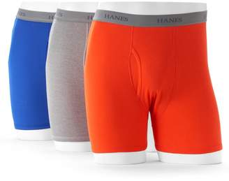 Hanes Big & Tall Ultimate 3-pack Tagless Fashion Boxer Briefs