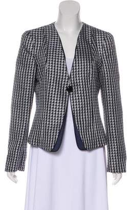 Armani Collezioni Metallic Structured Jacket w/ Tags