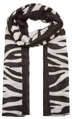 MANGO Zebra print scarf