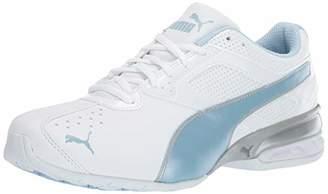 3829eb119da0c3 Puma Women s Tazon 6 FM Sneaker White-Cerulean Silver