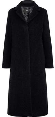 Maje Greaty Wool-Blend Coat