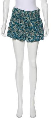 Etoile Isabel Marant Flared Mini Shorts