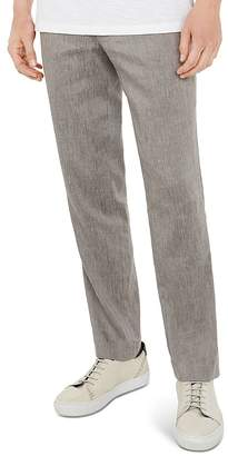 Ted Baker Bluetro Regular Fit Linen Trousers
