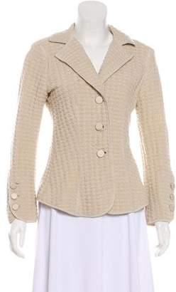 Armani Collezioni Textured Wool Blazer
