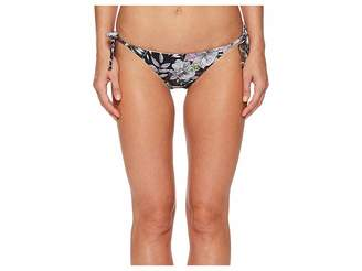 Bikini Lab THE What's My Sage Again String Tie Side Bikini Bottom Women's Swimwear
