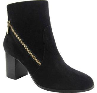 Adrienne Vittadini Footwear Women's Bob Ankle Bootie $42.40 thestylecure.com