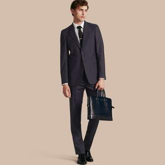 Burberry Modern Fit Wool Part-canvas Suit
