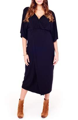 Ingrid & Isabel R) Dolman Sleeve Maternity Dress