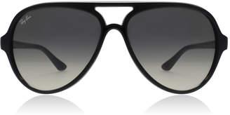 Ray-Ban CATS 5000 Sunglasses Shiny Black 601/32 60mm