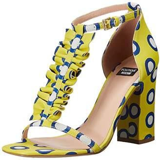 Moschino Women's Polka Dot Ruffle Heel Dress Pump
