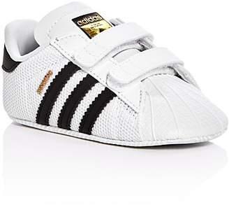 Adidas Unisex Superstar Crib Velcro Sneakers - Baby $36 thestylecure.com