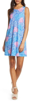 Lilly Pulitzer Kristen Seashell Print Swing Dress
