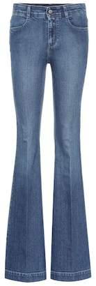 Stella McCartney High-waisted bootcut jeans