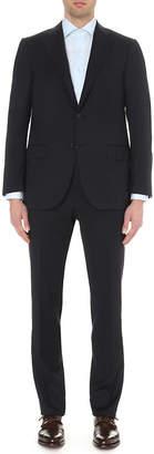Corneliani Single-breasted tapered wool suit
