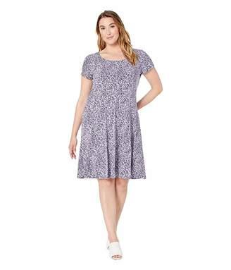 MICHAEL Michael Kors Size Mini Ikat Cap Dress