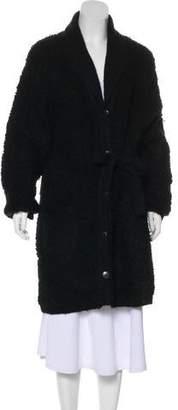 Sonia Rykiel Oversize Long Sleeve Cardigan Sweater