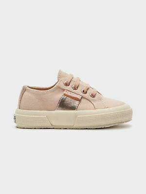 Superga New Womens Girls 2750 Sneakers In Rose Gold Sneakers Low Top