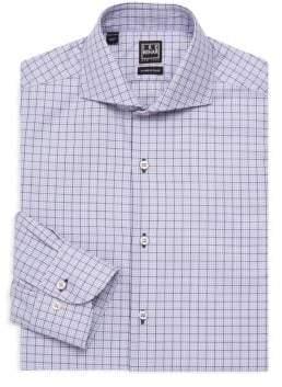 Ike Behar Check Dress Shirt