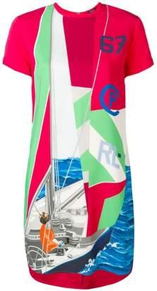 Polo Ralph Lauren Sailboat print T-shirt dress