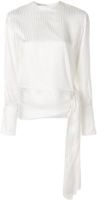 Stella McCartney side tie blouse