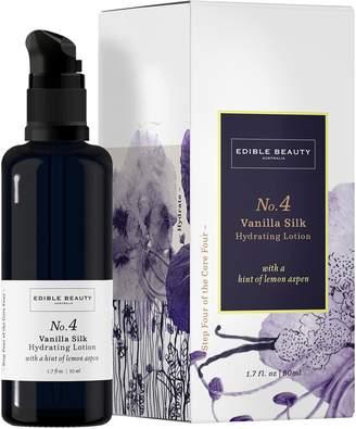 Edible Beauty - No. 4 Vanilla Silk Hydrating Lotion