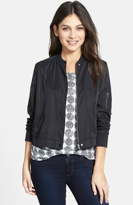 Women's Halogen 'Flight' Bomber Jacket $79 thestylecure.com