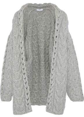 IRO Novyi Cable-Knit Alpaca-Blend Cardigan