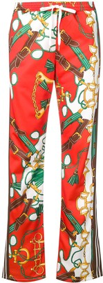 P.A.R.O.S.H. printed drawstring trousers