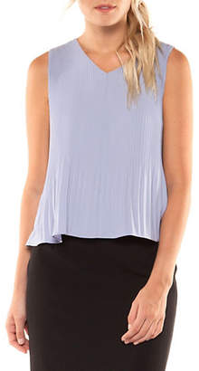 Dex Accordion Sleeveless Top