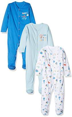 Mothercare Baby Boys' Mummy & Daddy Sleepsuit,(Manufacturer Size: 68 cms)