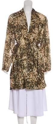 Stella McCartney Printed Silk Tunic