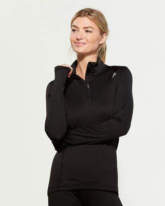 Reebok Black Half-Zip Fleece Jacket