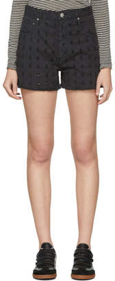 Etoile Isabel Marant Black Denim Felsey Shorts