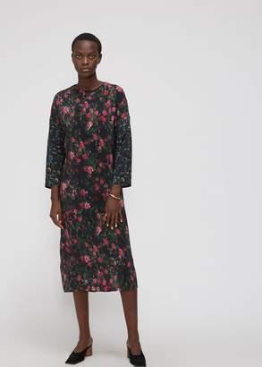 Anntian Long Sleeve Easy Dress