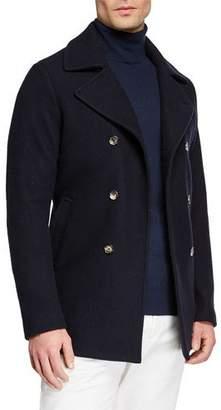 Loro Piana Men's Cashmere Pea Coat