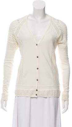 Marc by Marc Jacobs Cutout Wool-Blend Cardigan