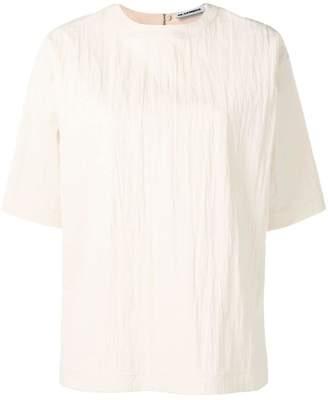 Jil Sander creased effect T-shirt