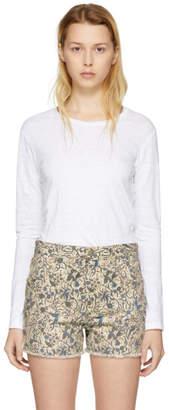 Etoile Isabel Marant White Kaaron T-Shirt