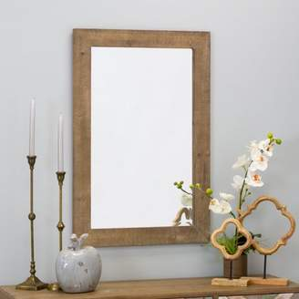 "Aspire Home Accents Morris Wall Mirror - Nutmeg 36"" x 24"" by Aspire"