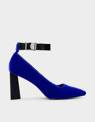 Charles & Keith Latch Lift Buckle Pumps