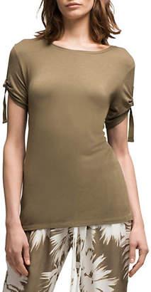 DKNY D-Ring Short-Sleeve Top